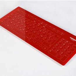 Clavier tactile en verre - Azerty | Ingenium Glass